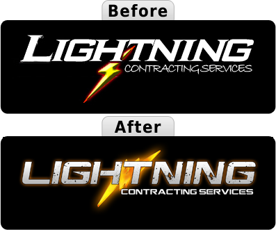 Lightning Contracting Logo Remake
